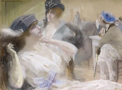 Vaarzon Morel, W.F.A.I. - Elegant gezelschap