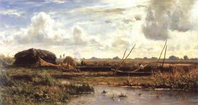 Roelofs, Willem - Rietsnijders in de polder