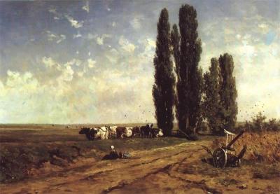 Roelofs, Willem - Zomerlandschap