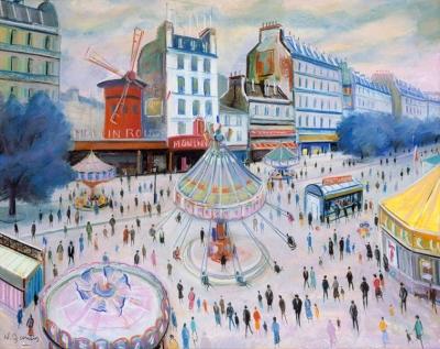 James, Willy - Le Moulin Rouge et la fête foraine