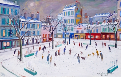 James, Willy - Montmartre, Place du Tertre