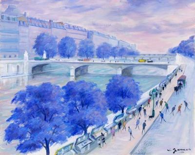 James, Willy - La Seine aux arbres bleus