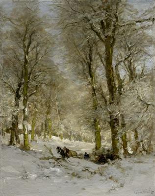 Apol, Louis - Winter in het Haagse Bos