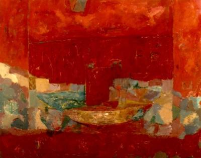 Diaz, Raul - Figura sobre bote amarillo