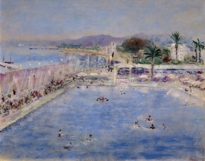 Adrion, Lucien - Palm Beach in Cannes