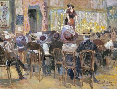 Bloos, Richard - Café chantant in Parijs