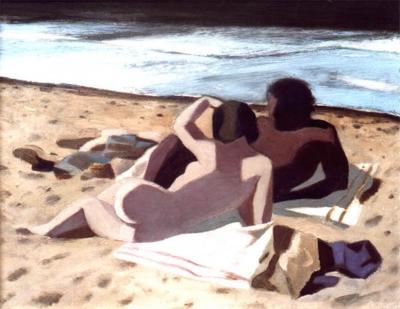 Lamsweerde, Reinald van - Twee op het strand