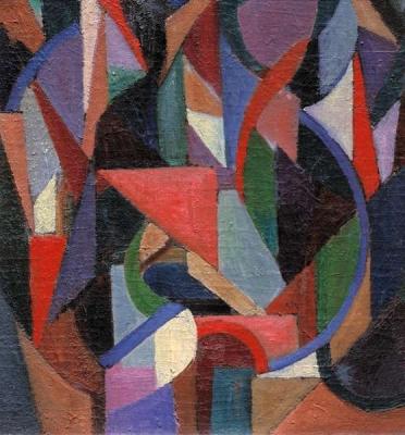 Abstracte compositie