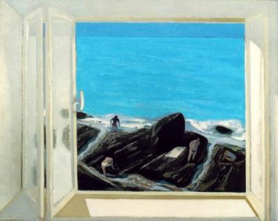 Lamsweerde, Reinald van - Raam op zee (Castiglioncello)