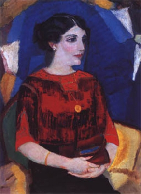 Sluijters, Jan - Dame met collier, 1915