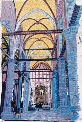 Church Interior, Venice