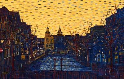 Rijksmuseum by Night