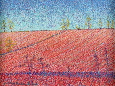 Red Ploughed field, Scottish Borders