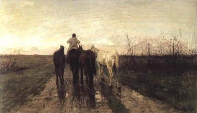 Mauve, Anton - Terugkeer naar huis