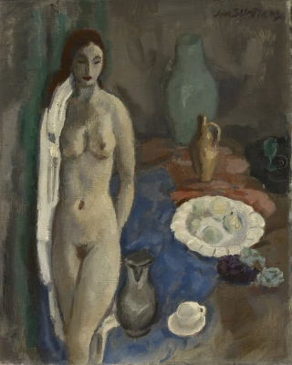 Sluiijters, Jan - Stilleven met staand naakt, 1933
