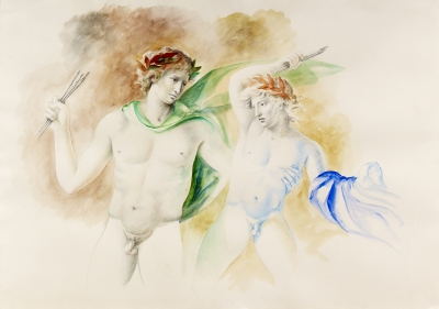 Mariani, Carlo Maria - Twee figuren