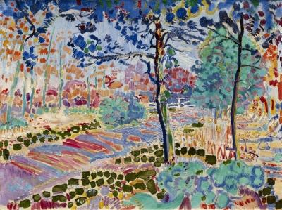 Sluijters, Jan - Weg door het bos, 1909