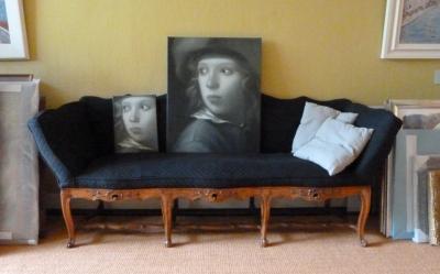 Dubbelportret naar 'Jongen met hoed' van Michael Sweerts