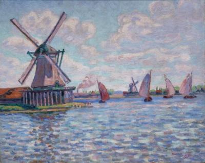 Moulins en Hollande près de Zaandam