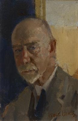 Isaac Israels, Zelfportret