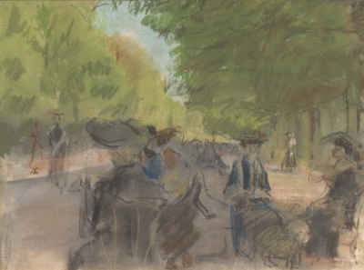 Israels, Isaac - Bois de Boulogne