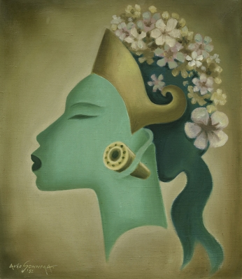 Sonnega, Auke - Balinese vrouw