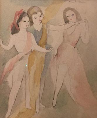 Laurencin, Marie - Drie gracieuze danseressen