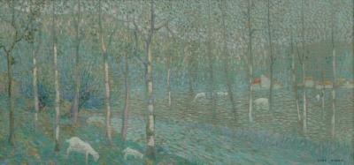 Nibbrig, Ferdinand Hart - Lentelandschap