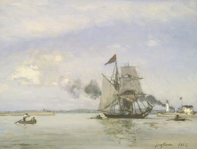 Johan Barthold Jongkind - Honfleur Harbour