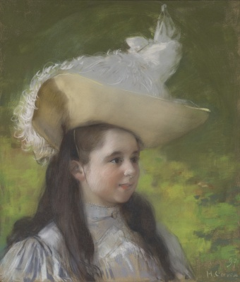 Gervex, Henri - Portret van een jong meisje