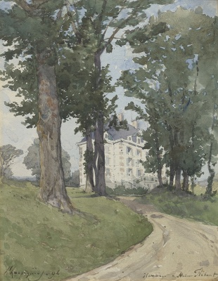 Harpignies, Henri-Joseph - Landgoed Flahant