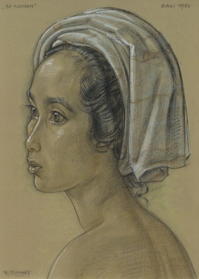 Bonnet, Rudolf - Portret Si Njoman