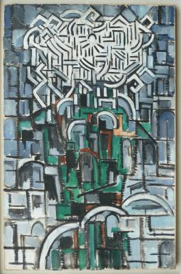 Louis Saalborn, 'Stilleven met Chrysanten'