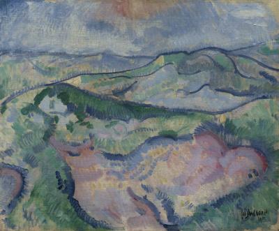 Louis Saalborn, 'Duinlandschap'