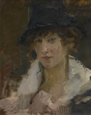 Isaac Israels - Parisienne, ca. 1915