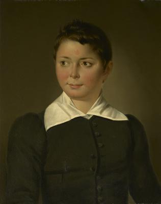 Portret Henricus (Henri) Menu (1823-1875) - Raden Salèh