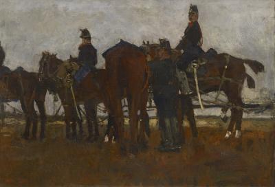 George Hendrik Breitner - Veld artillerie, ca. 1887