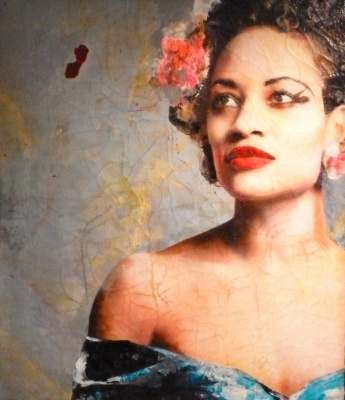 Billie Holiday - Lita Cabellut