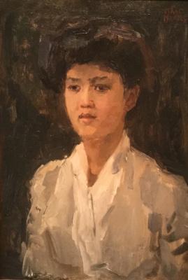 Isaac Israels - Portret van een jonge Indische vrouw