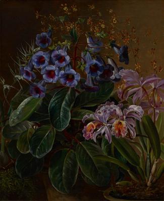 Deens bloemstilleven - Christiance Ulrica de Mylius