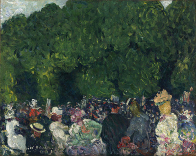 Louis Valtat Les Champs Elysees