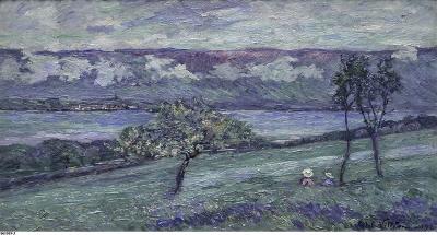 Villéon, Emmanuel de la - Au bord de Lac Neuchâtel