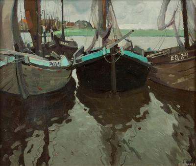 Raoul Hynkes - Vissershaven