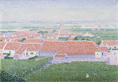 Nibbrig, Ferdinand Hart - Boerderijen bij Zoutelande