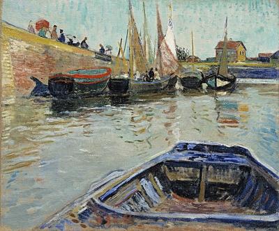 Gall, François - Boten in een haven